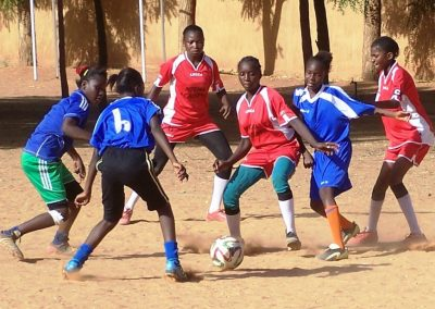 Meisjesvoetbal in Niger